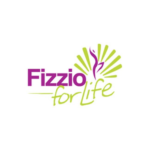 Fizzio for life footer logo