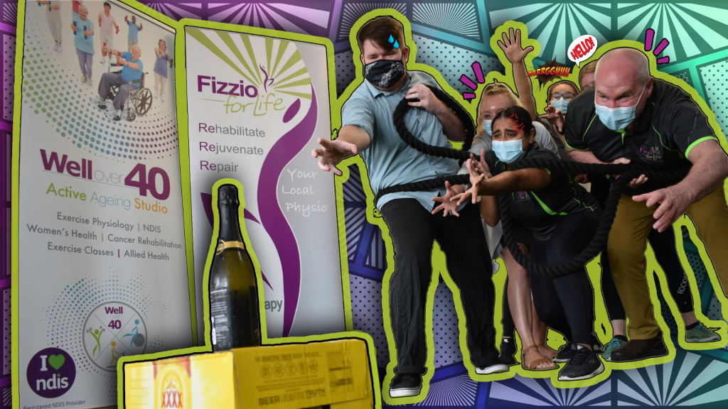 fizzio for life, dry july, exercise, cancer, logan, physiotherapy, well over 40